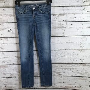 American Eagle Skinny Jeans Light Wash
